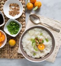 Chicken Arroz Caldo (Filipino Rice Porridge)