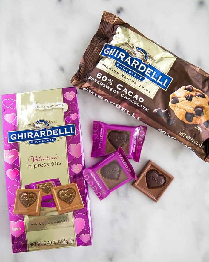 Ghirardelli Valentine's Day Ice Cream