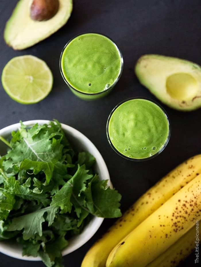 Avocado Kale Smoothie