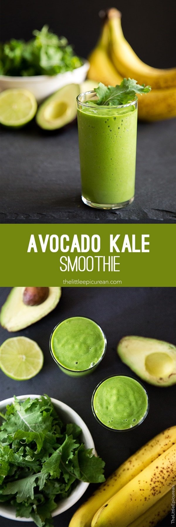 Avocado Kale Smoothie