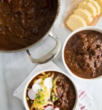 Chipotle Steak Chili