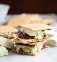 Matcha Red Bean S'mores