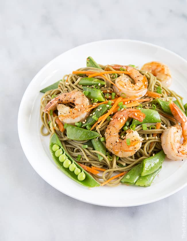 Roasted Snap Peas And Soba Noodles With Honey Soy Dressing ...