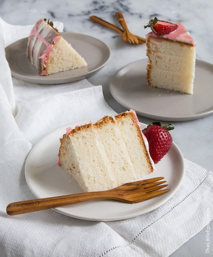 strawberry vanilla cake strawberry vanilla cake the epicurean 7780