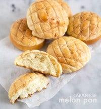 Japanese Melon Pan | the little epicurean