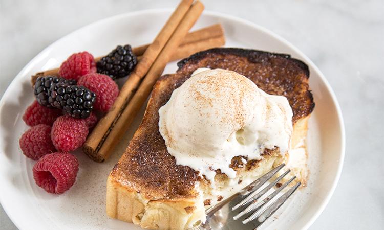 Cinnamon Sugar Milk Bread Toast | the little epicurean