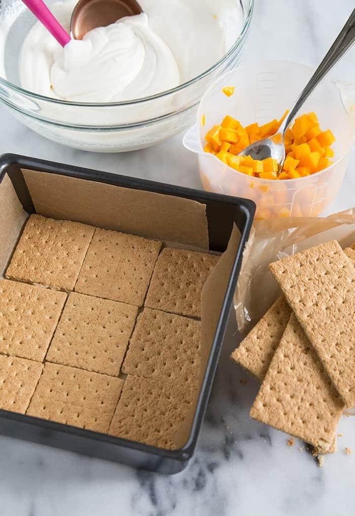 Mango Icebox Cake Recipe — Dishmaps