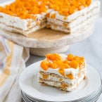 Mango Royale (Filipino Icebox Cake) | the little epicurean
