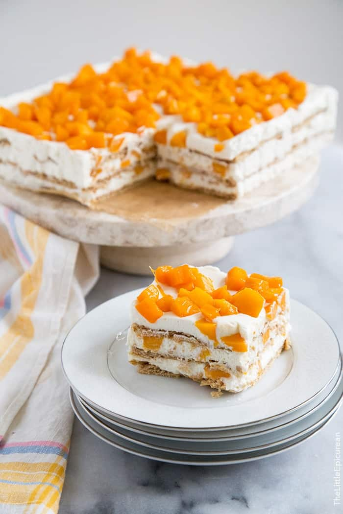 Mango Royale Filipino Icebox Cake The Little Epicurean