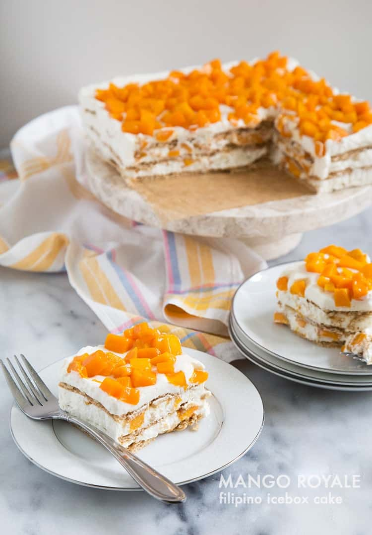 Mango Icebox Cake Recipe