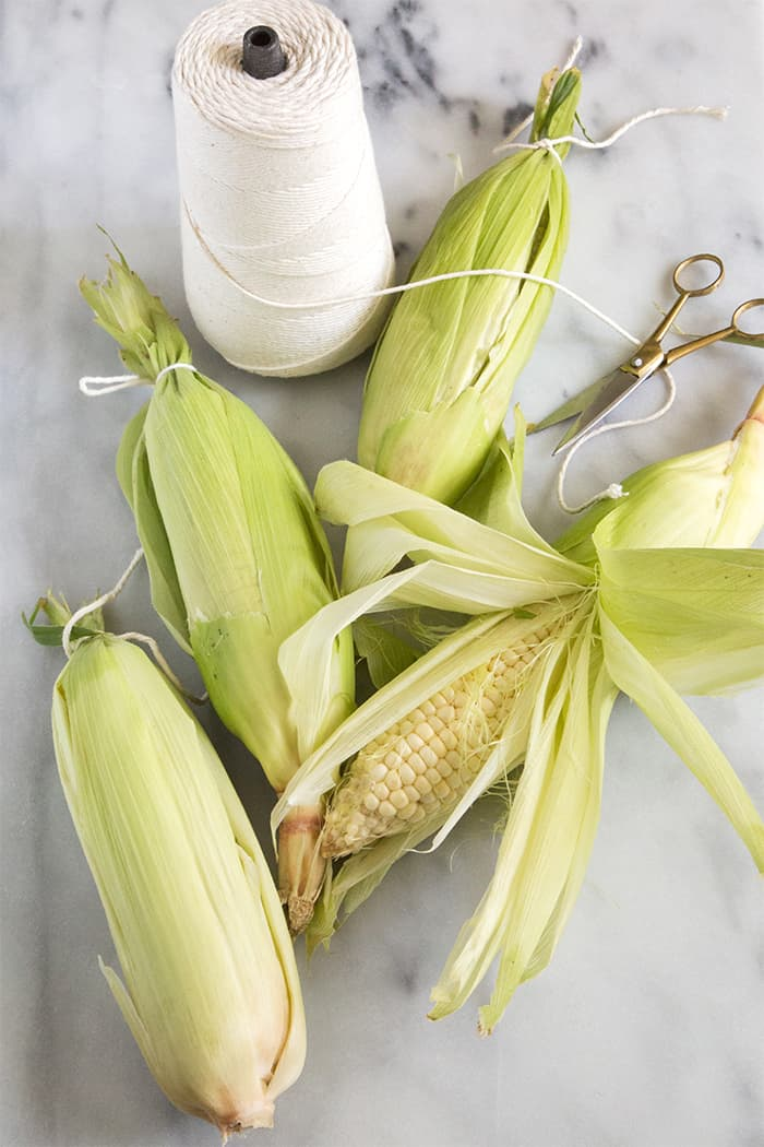 Roasted Corn with miso butter | the little epicurean