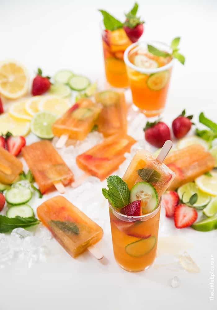 Pimm's Popsicles | the little epicurean