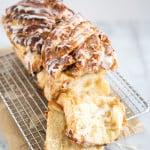 Apple Cinnamon Pull Apart Bread | the little epicurean
