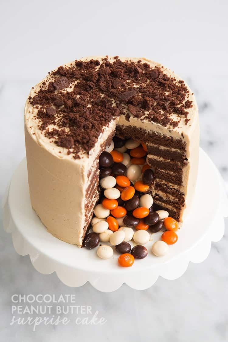 Chocolate Surprise Cake Recipe