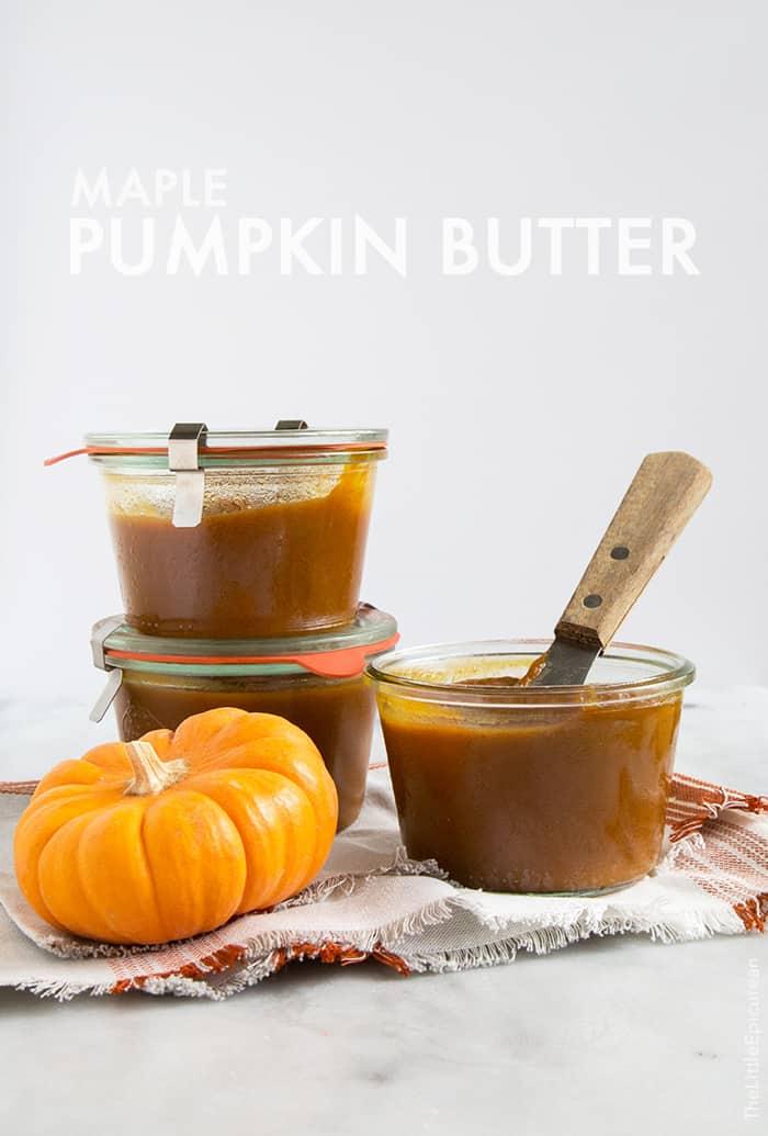 Maple Pumpkin Butter Brioche Toast