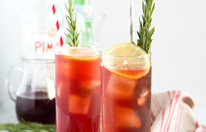 Holiday Pimm's Cup