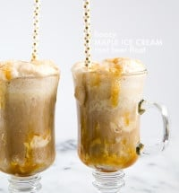 Boozy Maple Ice Cream Root Beer Floats