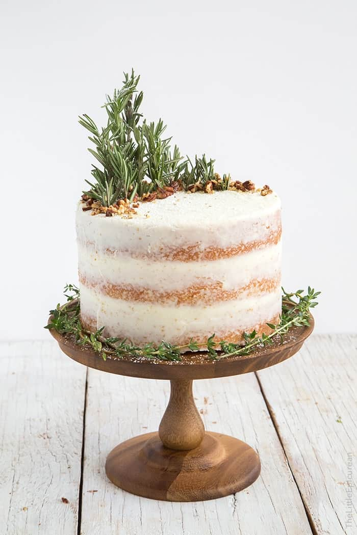 Lemon And Rosemary Cake Recipe