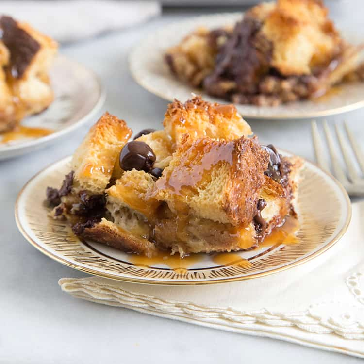 Chocolate Chile Bread Pudding Recipe — Dishmaps