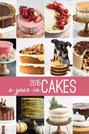 2015: A Year In Cakes