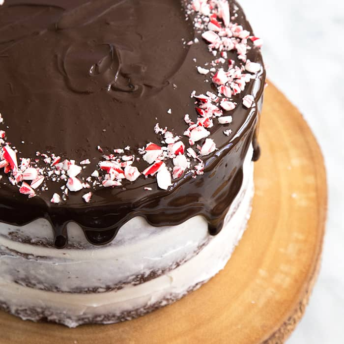 Chocolate Peppermint Cake-The Little Epicurean