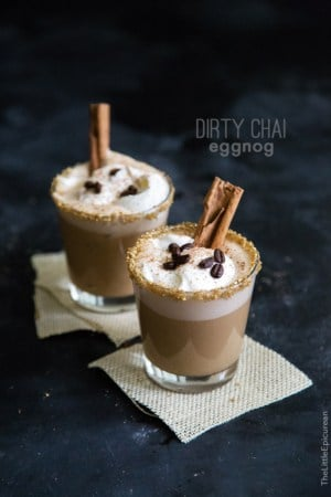 Dirty Chai Eggnog