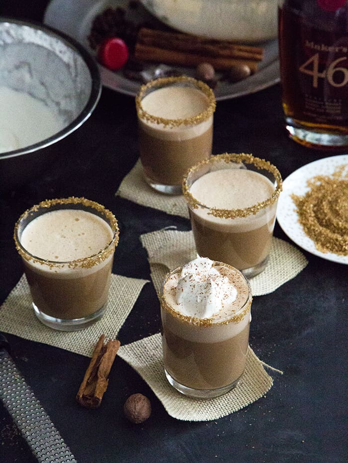 Dirty Chai Eggnog