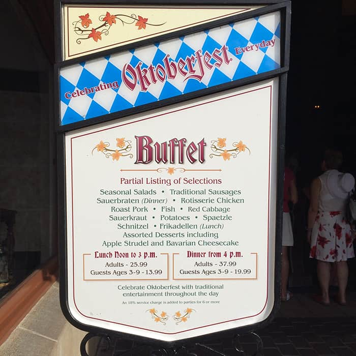 Disney World special occasion dining guide