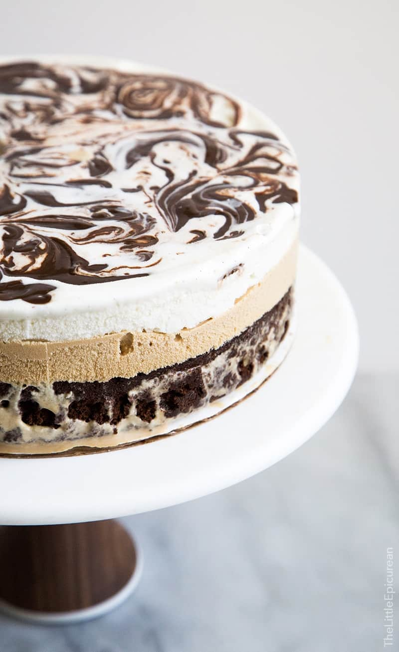 Coffee ice cream cake the little epicurean coffee ice cream cake ccuart Gallery