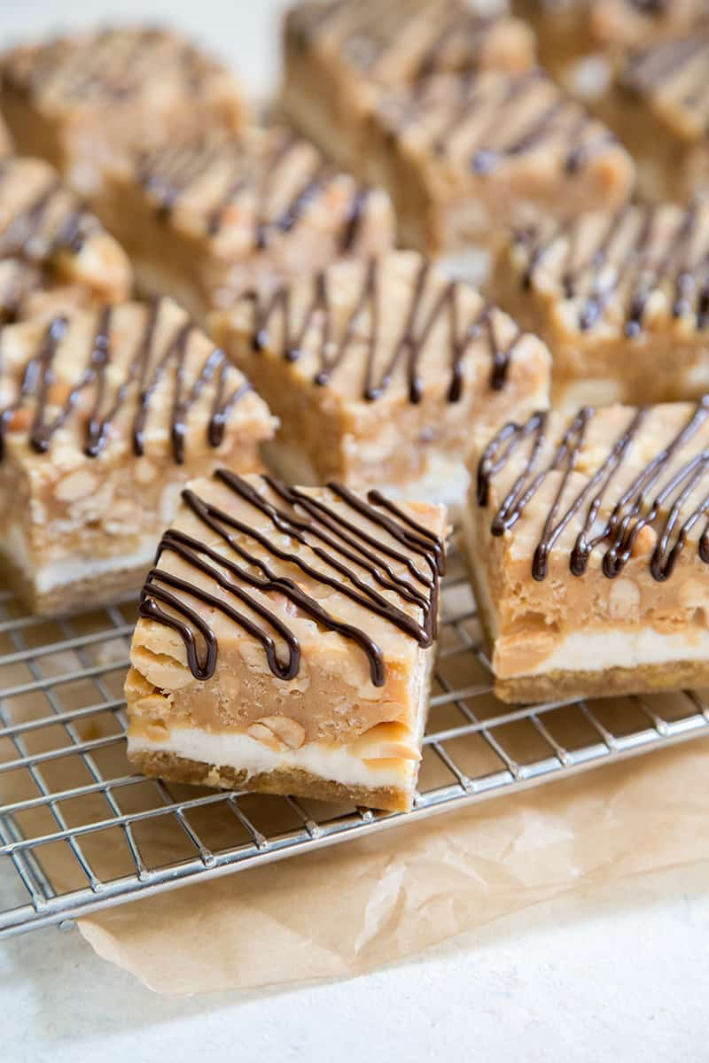 Chocolate Peanut Marshmallow Bars