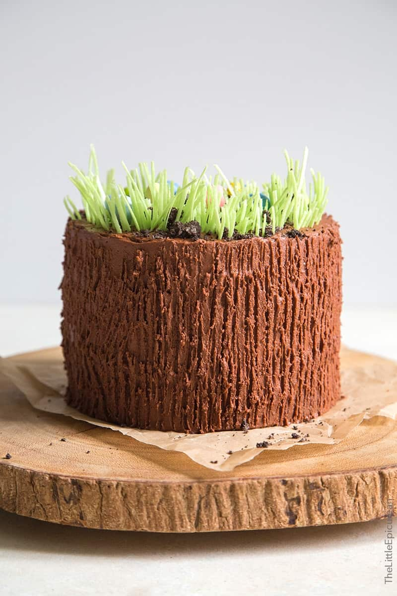 Easter Egg Chocolate Cake The Little Epicurean