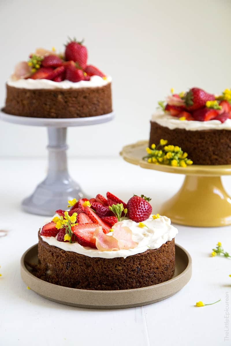 Strawberry Carrot Cake
