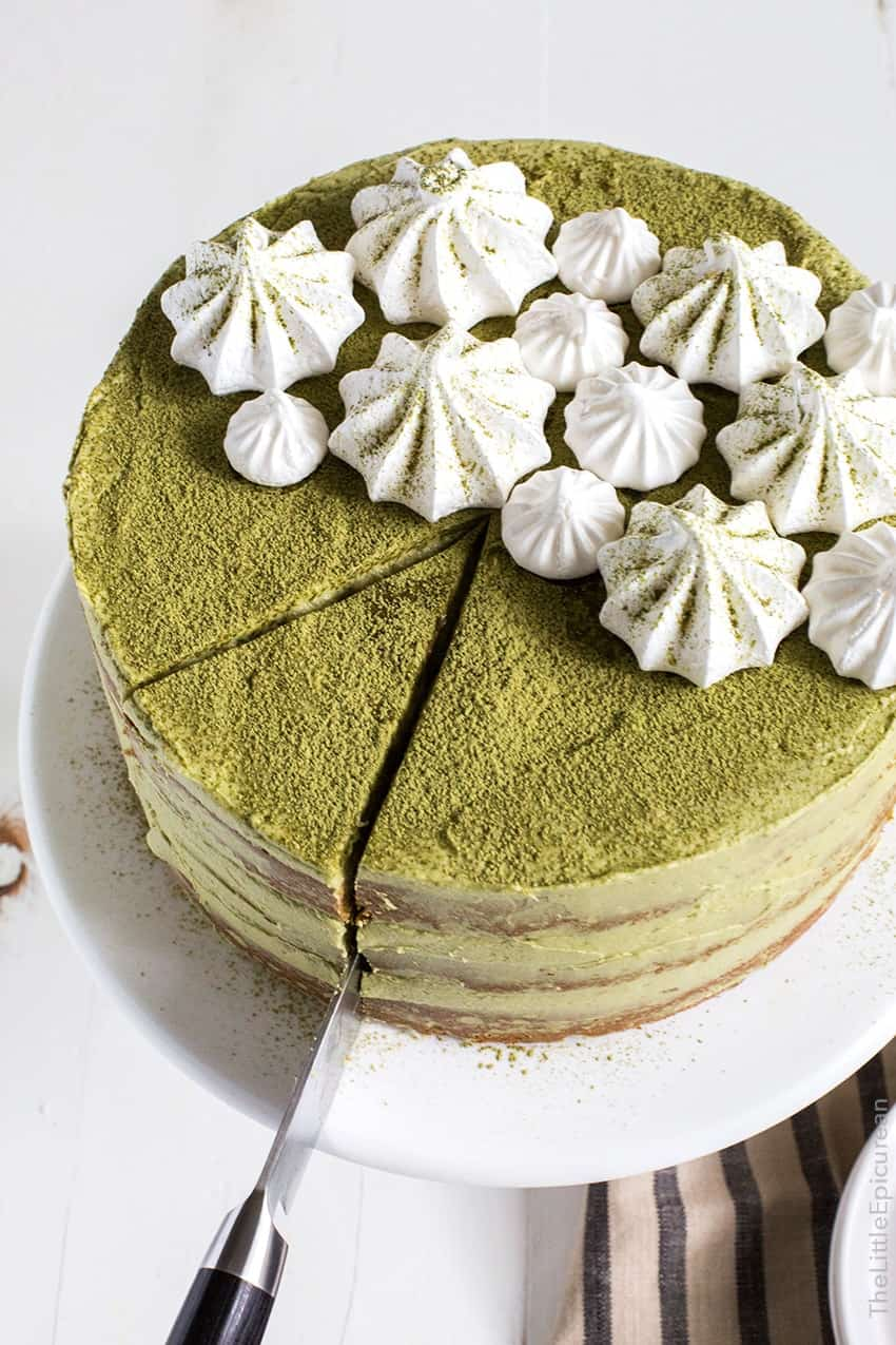 matcha red bean cake the little epicurean. Black Bedroom Furniture Sets. Home Design Ideas
