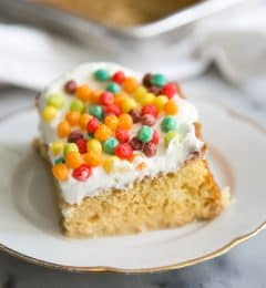 Cereal Milk Tres Leches Cake