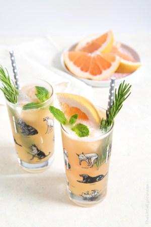 Greyhound Cocktail Float