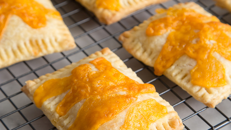 Ham and Cheese Breakfast Tarts