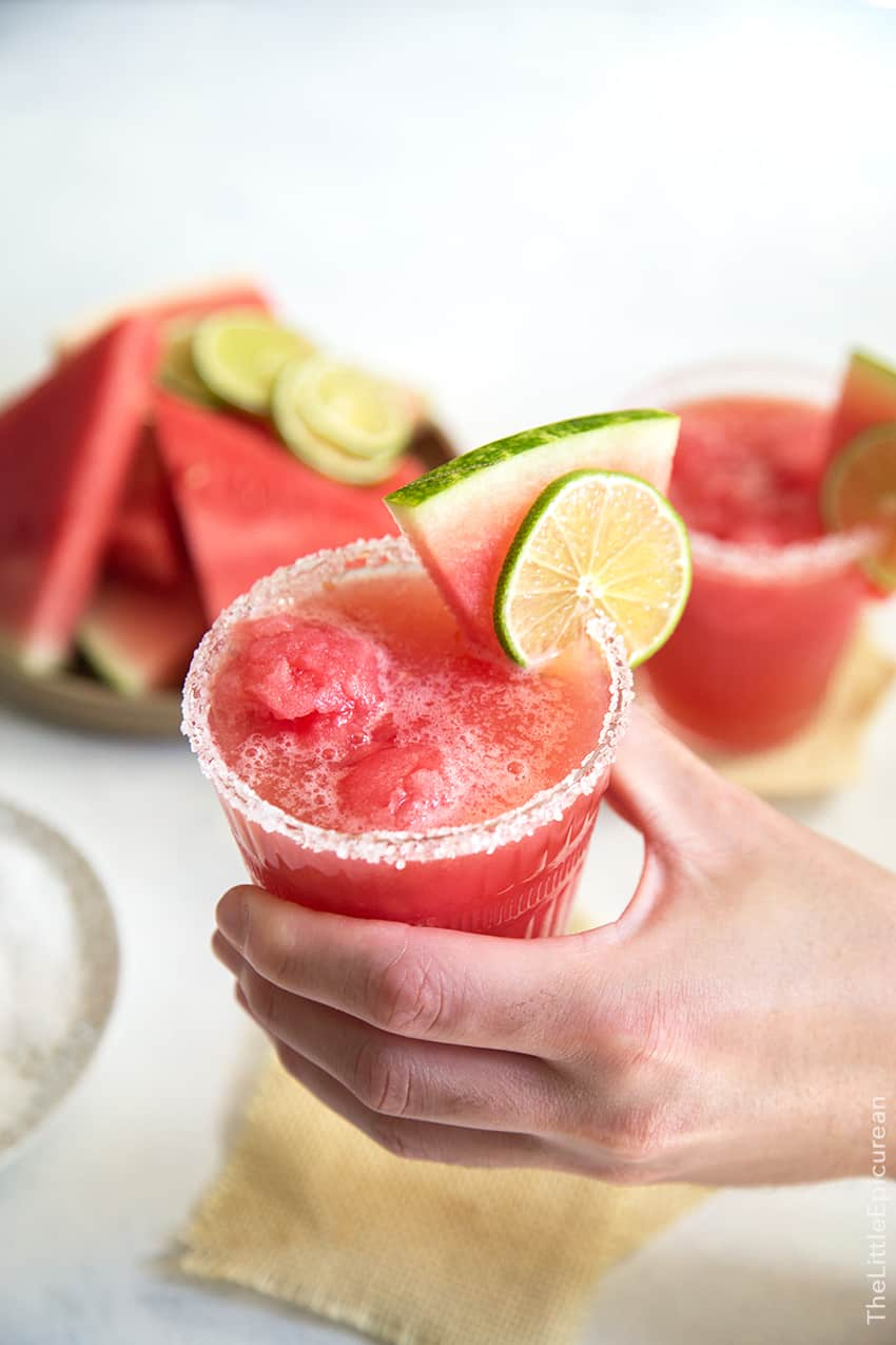 Watermelon Margarita Float