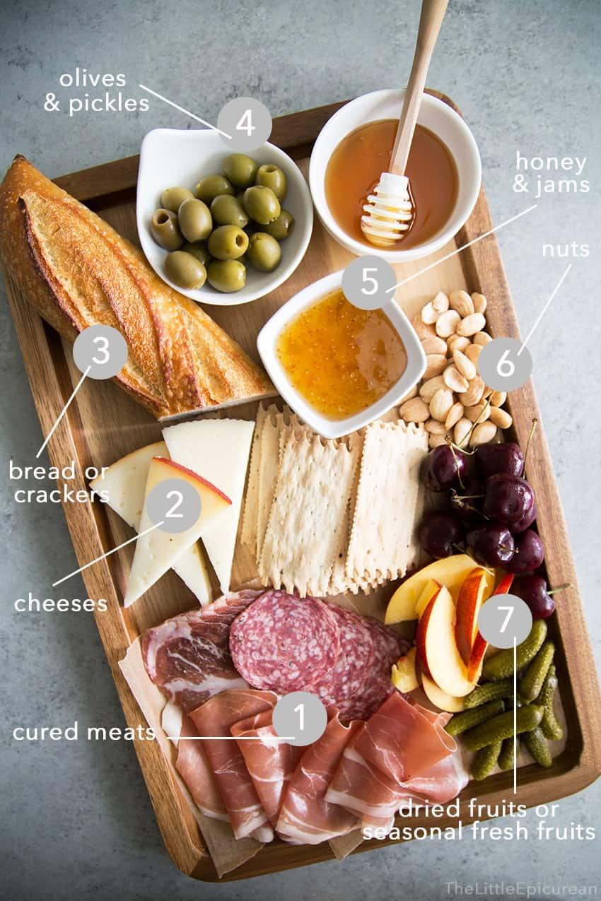 Meat and Cheese Board + Wine Pairing Tips : cheese plate pairings - Pezcame.Com