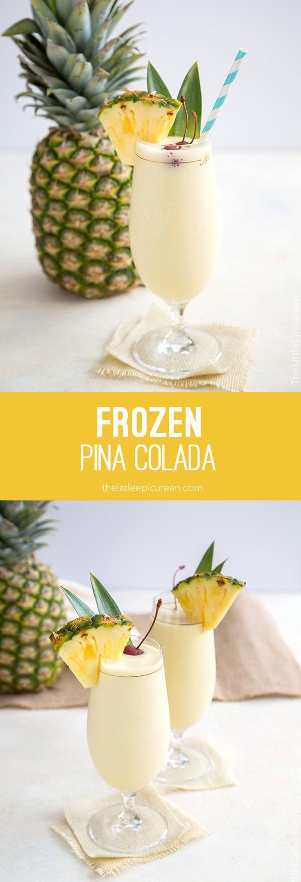 Frozen Pina Colada