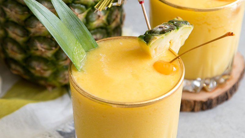 Mango Pineapple Sangria Slush