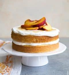 Peach Bellini Cake