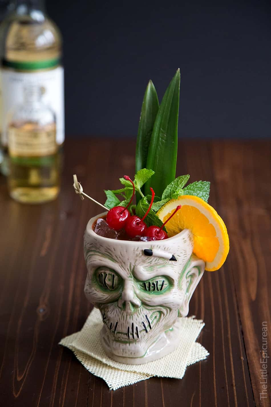 Zombie Cocktail Recipe — Dishmaps