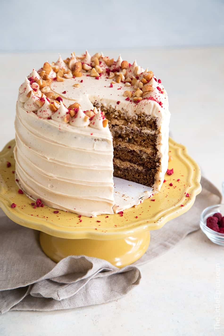 Banana Peanut Butter Jelly Cake