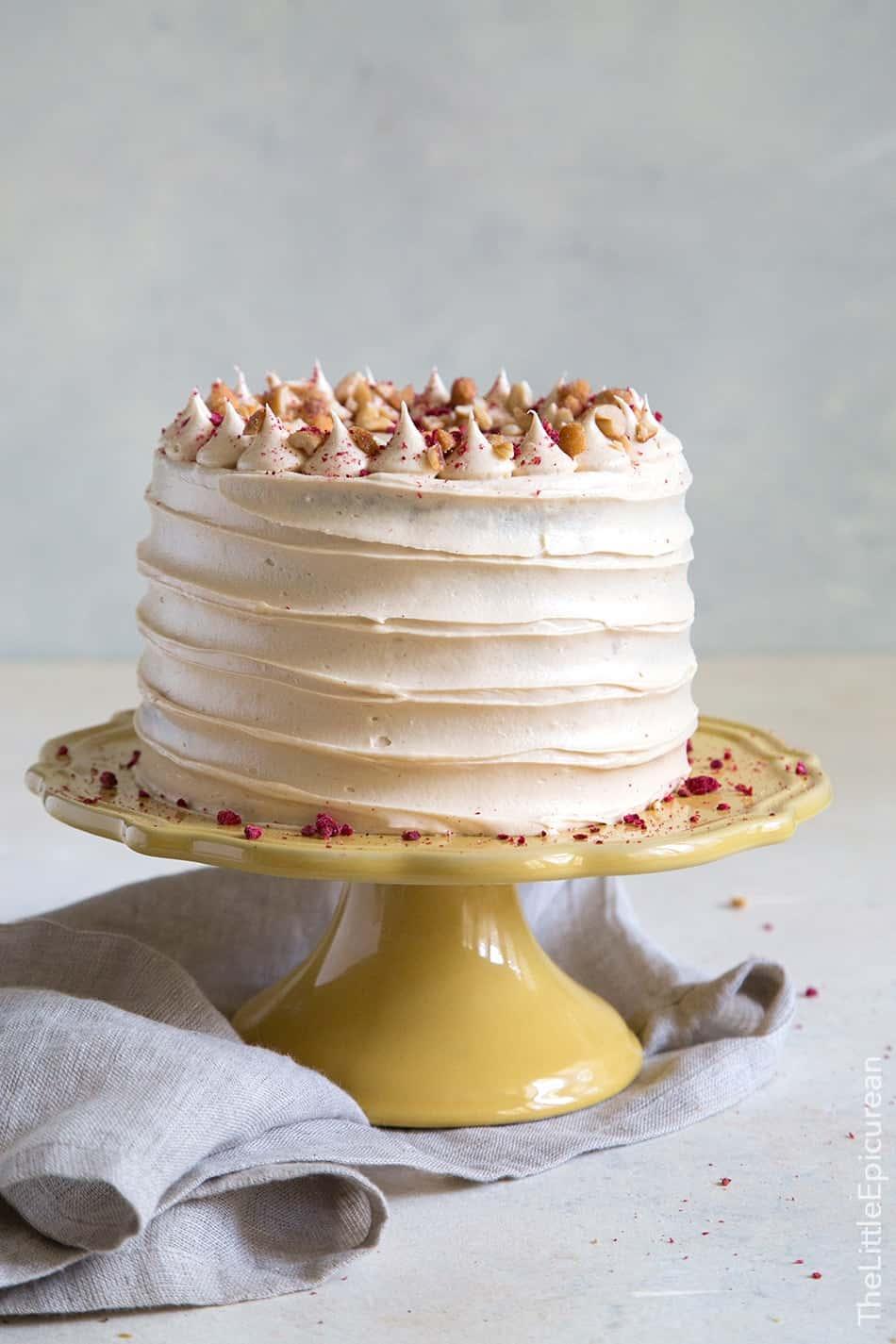 Banana Peanut Butter Jelly Cake