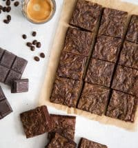 Espresso Cream Cheese Brownies