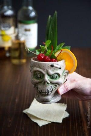 Zombie Cocktail (Tiki Cocktail Series)