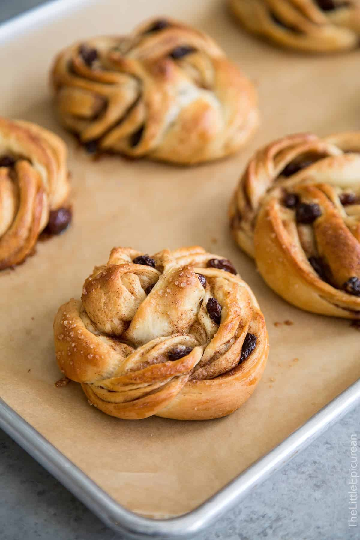 Rum Raisin Cinnamon Twisted Rolls