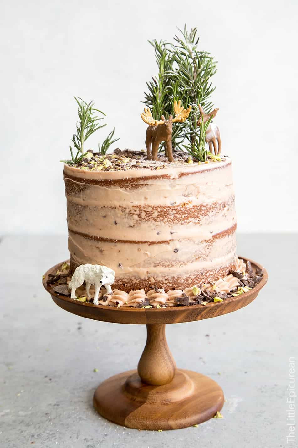 Rustic Chocolate Cake Recipe
