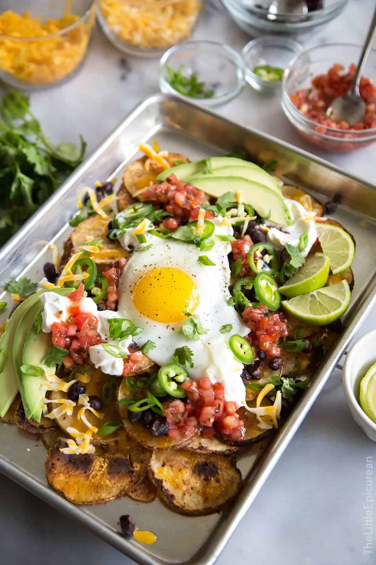 Breakfast Potato Nachos