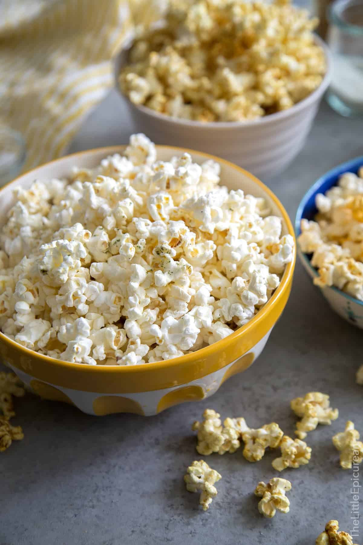 Homemade Microwave Popcorn (with flavor mix-ins)
